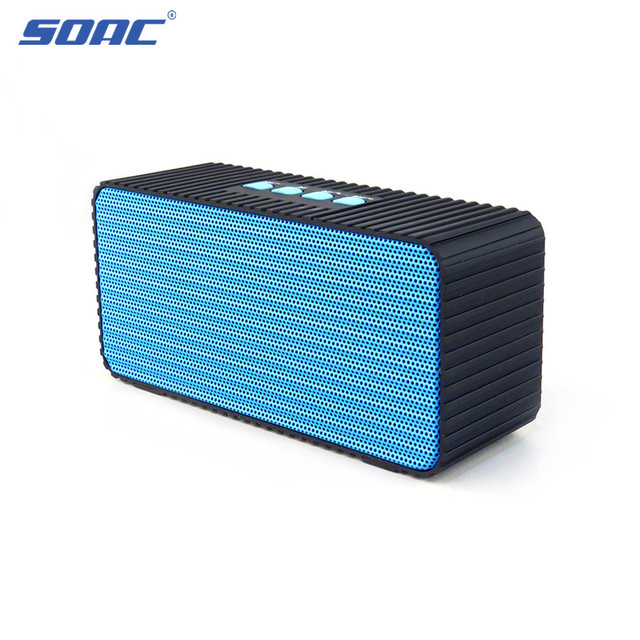 Mini Clic Sound Box Wireless Portable Hifi Audio Stereo Bluetooth Speaker With Hands Free Call Function