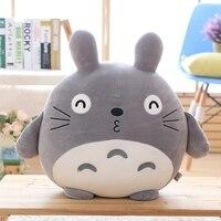 TV Movie Character kawaii anime 45cm Miyazaki Hayao Totoro kids cartoon Stuffed toys doll Pillow gift for girlfriend