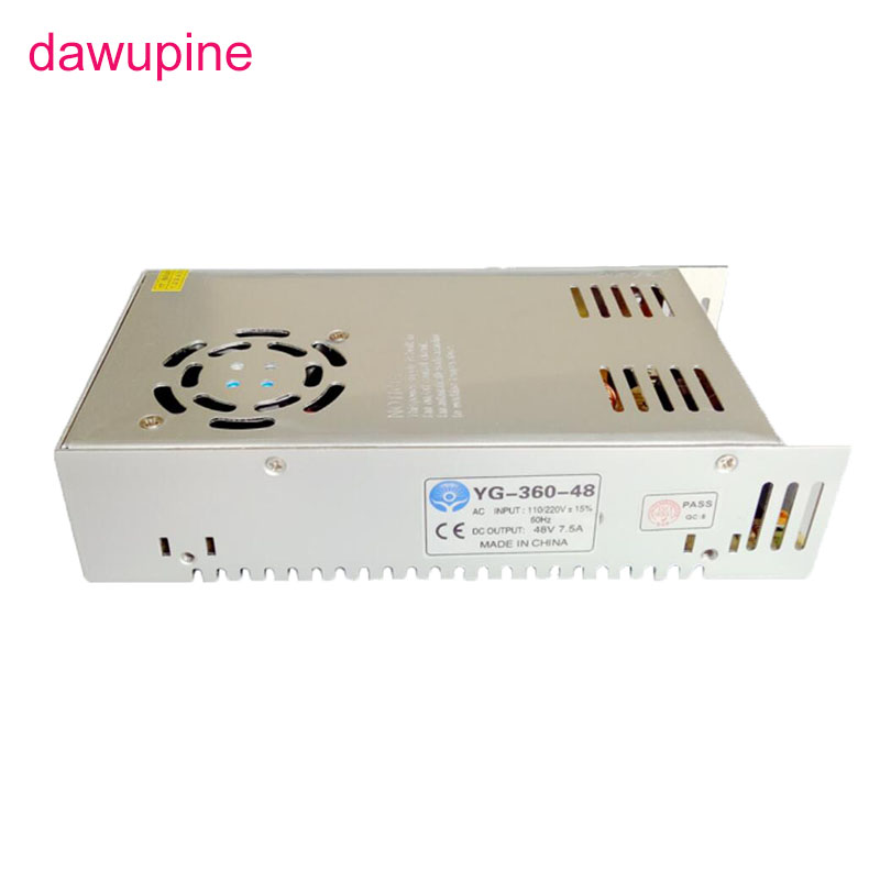 Dawupine 110 V 220 V AC à DC 24 V 36 V 48 V interrupteur de moteur pas à pas LED d'alimentation transformateur de lumière Source pilote tension réglable