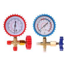 OOTDTY 220PSI 500PSI Air Conditioning Refrigerant Recharge Pressure Gauge Manometer big thermometer цена