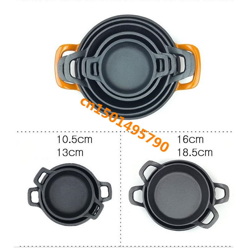 cast iron Pan Non stick cookware roasting pans