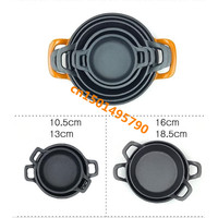 cast iron Pan Non stick cookware roasting pans