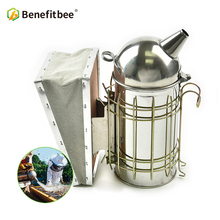 Benefitbee Beekeeping Smoker Bee Stainless Steel Tool Supplies For Beehive Apiculture Equipment