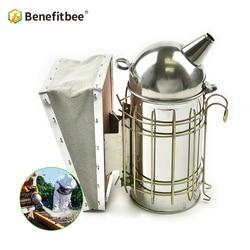 Benefitbee Beekeeping Smoker Bee Smoker Stainless Steel Beekeeping Tool Supplies For Beehive Smoker Apiculture Equipment