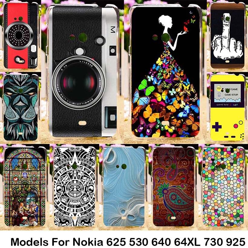 Plástico De silicona Para Nokia Lumia 625 N625 625 H 530 N530 640 N640 640XL N64