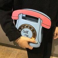 Hand bag Retro Clock funny personality Mori Vintage Vintage handbag alarm bag