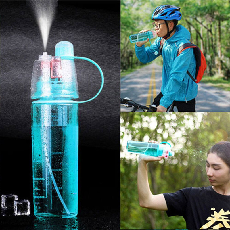 Bottle Empty Outdoor Sport Travel Water Drink Bottle Portable Leak Proof Cup Spray Bottle jmt h8125 portable leak proof bottle w filter strap translucent green 480ml