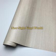 Oak DIY Car Sticker Wood Grain Vinyl Film Floor Furniture Car Interier Size:1.24X50m/Roll(4ft X 165ft)