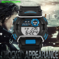 Top marca sanda analógico digital hombres reloj hombre militar del ejército deportes Relojes Mujeres Vestido Reloj Ocasional Impermeable G Hombres de Choque reloj