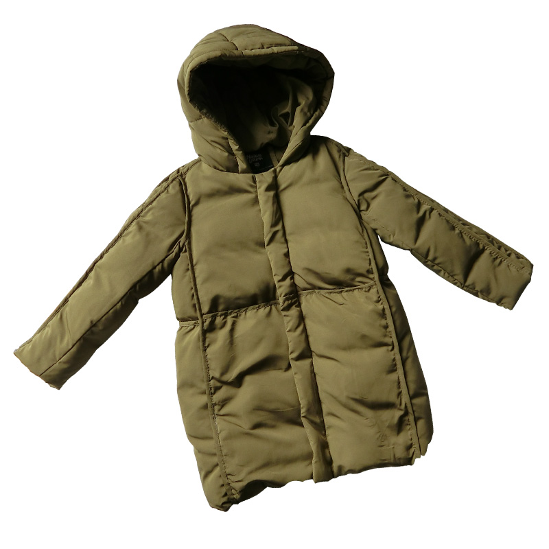 Boys Cotton Clothing 2018 Winter New Children Windbreak Jacket Cotton Padded Coat Long Down Jacket Thick Winter Warm Coats 6-14T цена