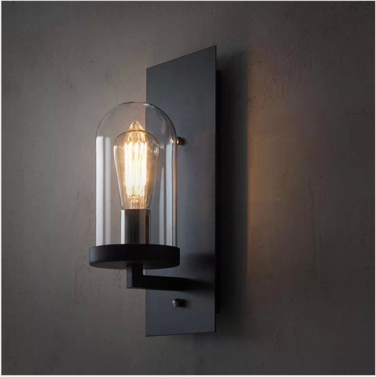 Retro Loft Style Industrial Edison Vintage Wall Sconce Light Lamp Antique Iron Edison Lighting Fixture  цена и фото