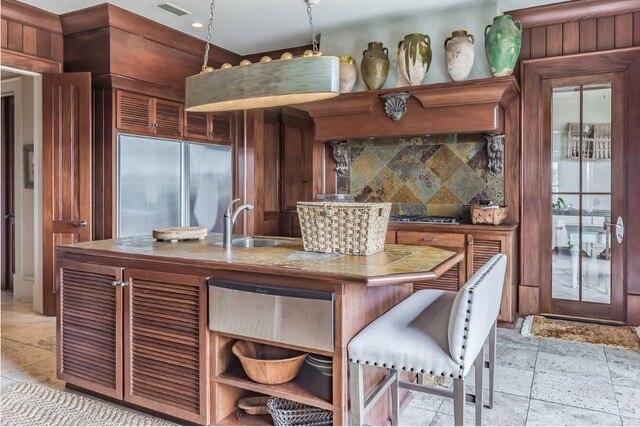 2017 in legno massello mobili da cucina su misura made ...