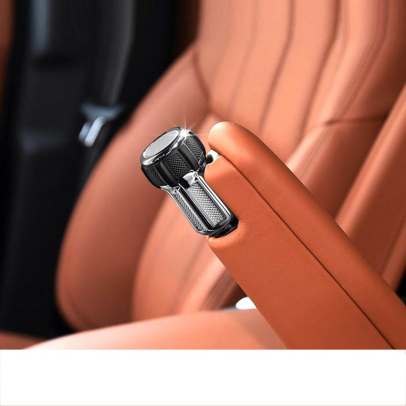 lsrtw2017 aluminum alloy car seat armrest adjuster knob trims cover for land rover discovery 5 range rover vogue sport L494 L405 in Interior Mouldings from Automobiles Motorcycles