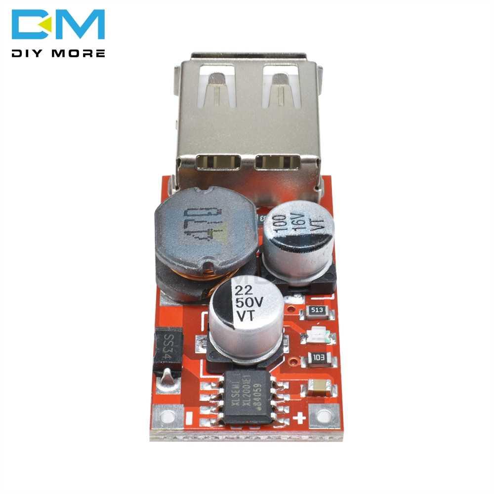 DC-DC Step Down Car Charger Power Module 9V//12V//24V to 5V 3A USB Buck Board H1