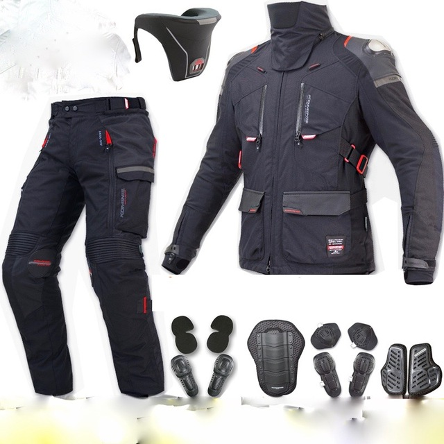 nouveau moto veste de chasse racing pantalon enduro racing combo jk564 pk912 dans. Black Bedroom Furniture Sets. Home Design Ideas