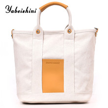 Reusable Tote Pouch Women Travel Storage Handbag Fashion Shoulder Bag Female Canvas Shopping Bags New Foldable Shopping Bag