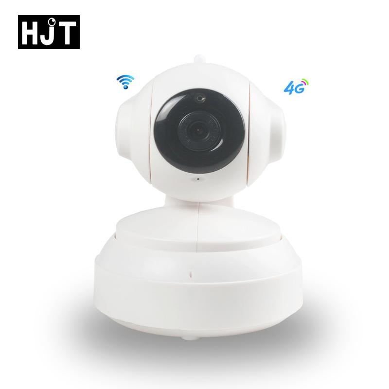 4G Wireless Wifi IP Camera 960P 1.3MP Pan Tilt HD Audio Micro tf card slot Network P2P Onvif IR Night Vision Indoor yobangsecurity dual network gsm pstn home security alarm system lcd keyboard english spanish russian voice prompt alarm sensor