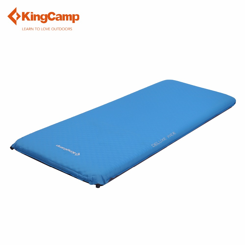 KingCamp DELUXE WIDE Self-Inflating Outdoor Camping Mat Portable Camp Pad for Traveling Hiking arteast am 278 фигурка еж с яблоком латунь янтарь
