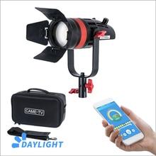 1 Pc CAME TV Q 55W Boltzen 55w MARK II Hohe Ausgang Fresnel Fokussierbare LED Tageslicht Mit Tasche Led video licht