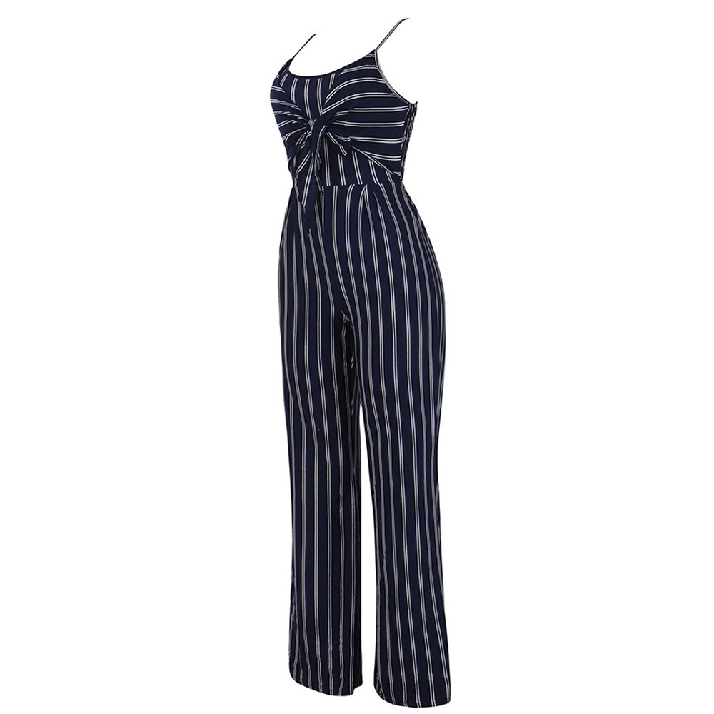 Jumpsuit Summer Women 2018 New Brand Sleeveless Bodysuits Sexy V-Neck Bandage Clubwear Elegant Jumpsuit combinai F#J07 (10)