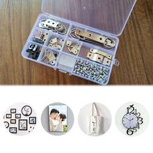 96pcs/set Picture Photo Frame Hanging Hooks With Screws Kit For Office Home Painting Hanger Assorted Types(China)
