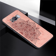 For Samsung Galaxy S8 Cover Case 3D Luxury Cloth Fabric Phone