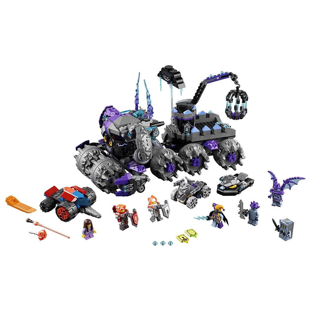 Lepin 14031 Nexus Knights Building Blocks Set Jestro\'s Monstrous Monster Vehicle Kids Bricks Toys Compatible 70352 lepin 14004 knights beast master chaos chariot building bricks blocks set kids toys compatible 70314 nexus knights 334pcs set
