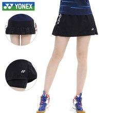 Original Yonex Badminton Skirt Cool Quick Dry Skirt Women's Dress Sports Wear Skirt Tennis Skirt For Women