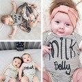 2017 nova primavera verão bebés meninos meninas rompers hold me leite barriga recém-nascidos roupa dos miúdos tamanho 7-24 M