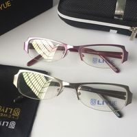 Clear lens bril Computer Goggle Anti Blauw Laser Vermoeidheid stralingsbestendige Leesbril Frame Brillen T1010