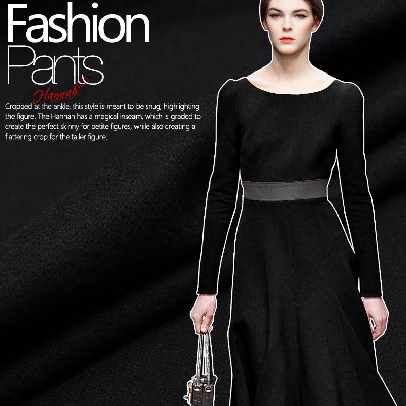 Free shipping! High quality elastic wool knitting fabric soft warm coat jacket fabrics