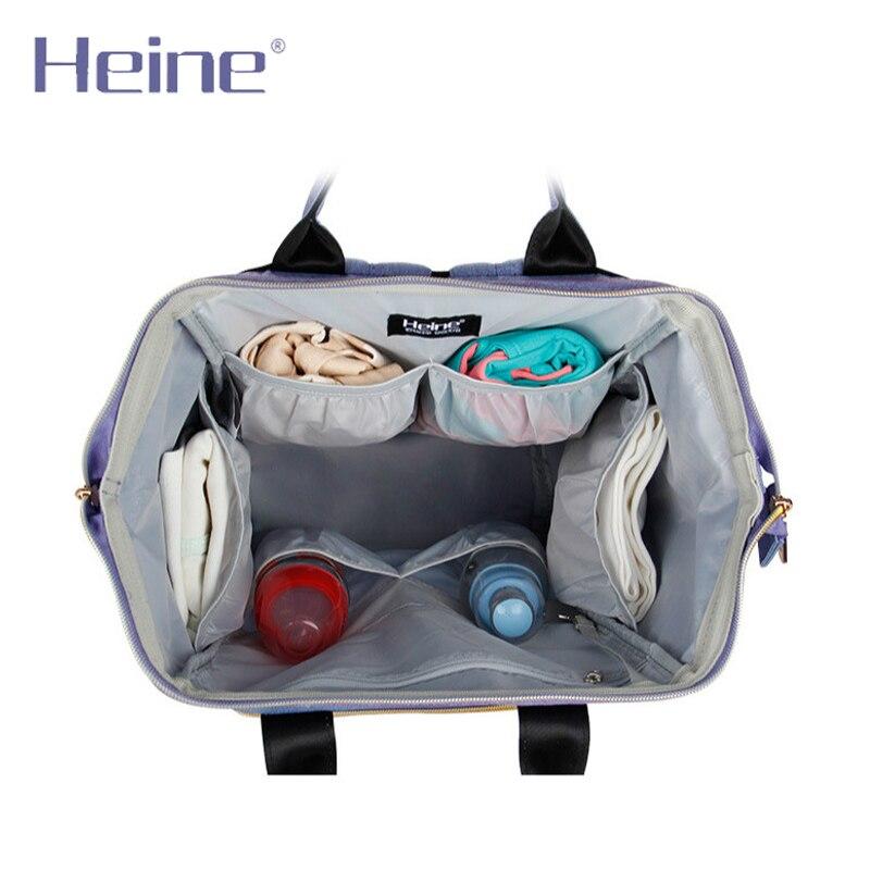 Heine Poliester duża torba na pieluchy dla niemowląt zmiana - Pieluchy i Trenowanie toalety - Zdjęcie 4