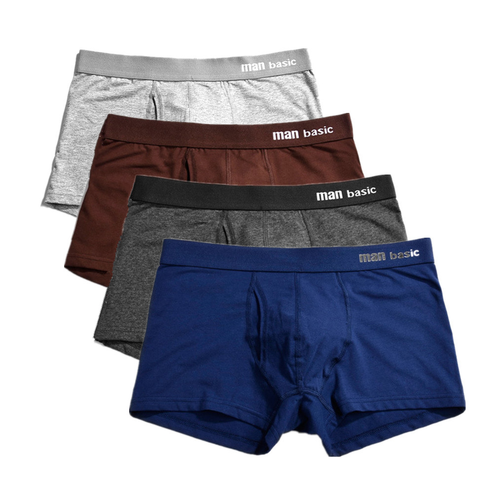 Underwear & Sleepwears Carfante 10piece/lot Men Underwear Boxer Cotton Man Short Breathable Solid Mens Shorts Boxers Male Underpants S M L Xl Xxxl With The Best Service