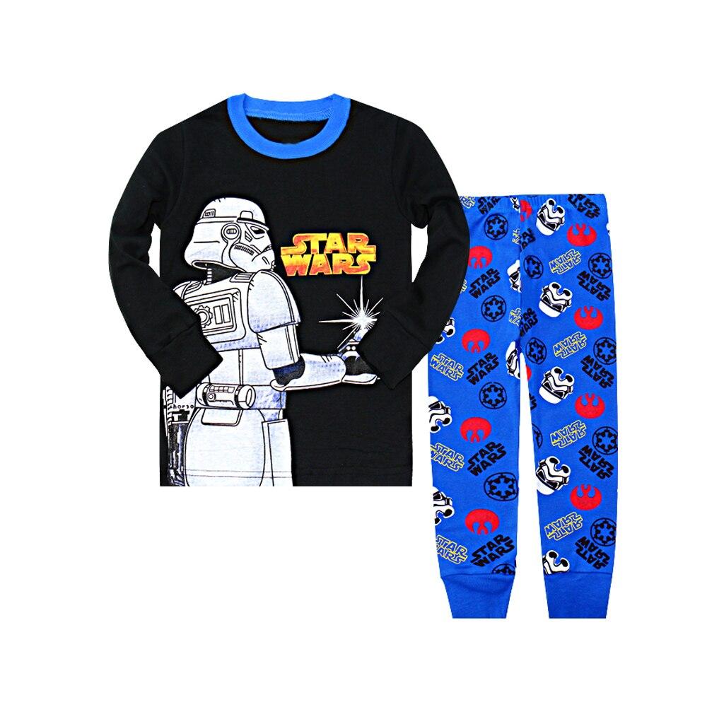 Size 2T 8T Boys Star Wars Sleepwear Kids Dinosaur Pajamas