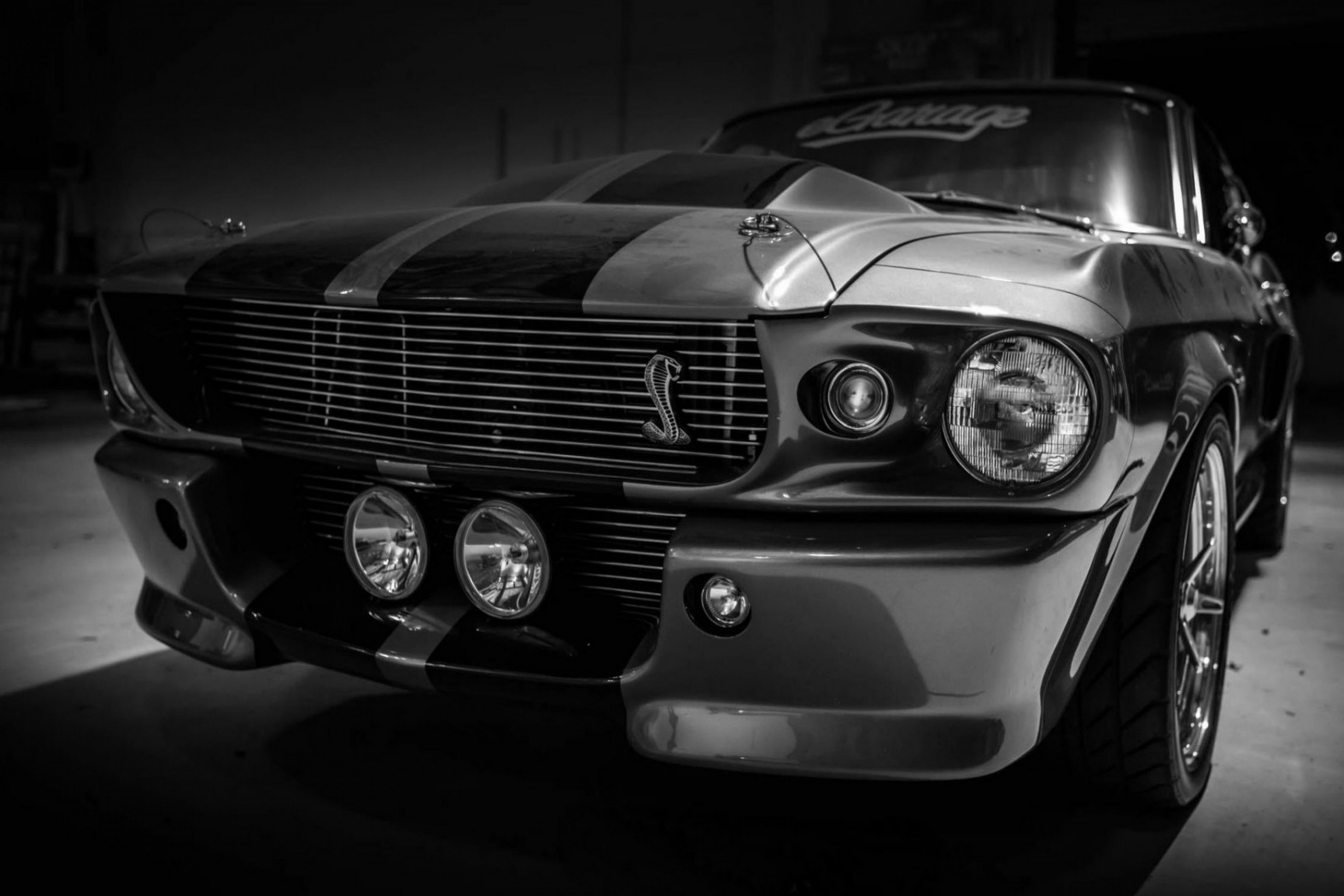 Home Decoration Ford Mustang Cars Silk Fabric Poster Print Hc074 China Mainland