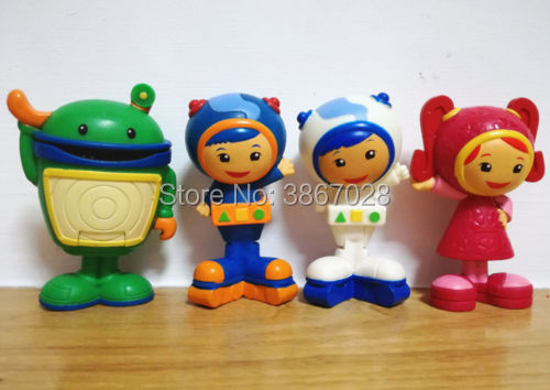 Us 8 99 Team Umizoomi Bot Milli Geo Plush 6cm Figure Plush Doll Gift Stuffed Toys In Movies Tv From Toys Hobbies On Aliexpress