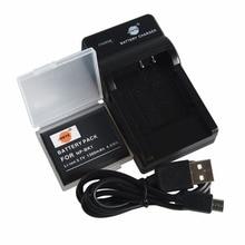 DSTE NP-BK1 NPBK1 Battery Case Protector + UDC16 USB Charger for Sony DSC-S750 DSC-S780 DSC-S850 DSC-950 DSC-980 W180 W190