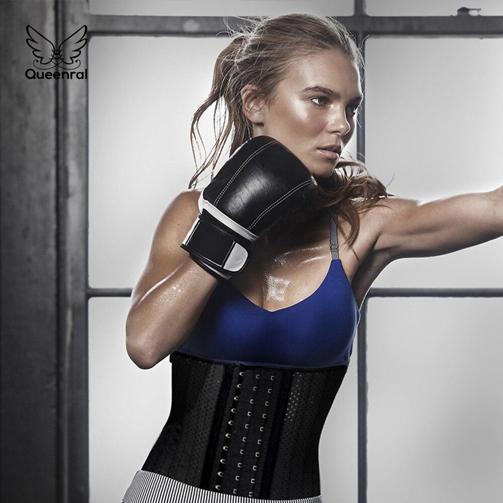 4e2225091d Slimming Belt latex waist trainer slimming neoprene Body Shaper Women  Slimming Sheath Belly hot shaper Tummy Control underwear