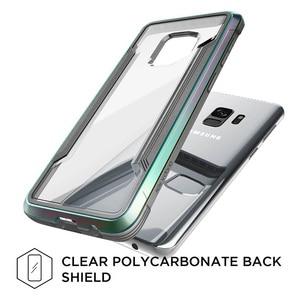 Image 5 - X Doria защитный чехол для Samsung Galaxy S9 S9 Plus, защитный чехол в стиле милитари, алюминиевый чехол для телефона с защитой от падения