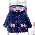 Высокое качество руку девушки хлопка мягкой одежда 2016 Зима новый утолщение детская clothing baby теплой ребенка хлопка-ватник