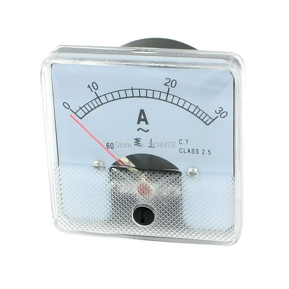Ac Ammeter Dh 60 Ac0 30a Analogue Ampere Panel Meter 6060mm In Wiring Diagram Current Meters From Tools On Alibaba Group