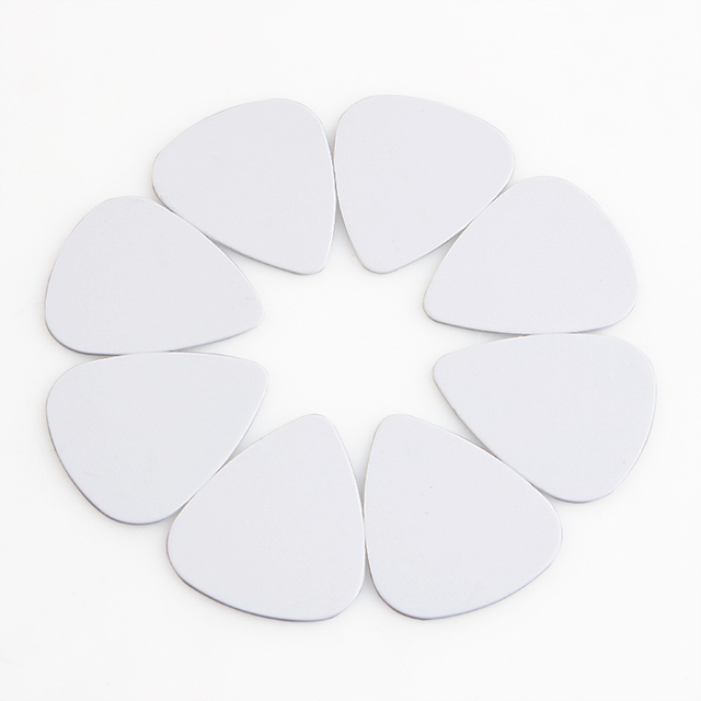 SOACH 0.71mm 1000pcs Pure White Acoustic Guitar pick ukulele bass guitars Musical instrument accessories Beginner