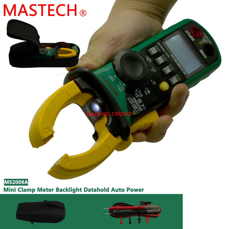 Auto Meter Clamp : Mastech ms a digital clamp meters auto range