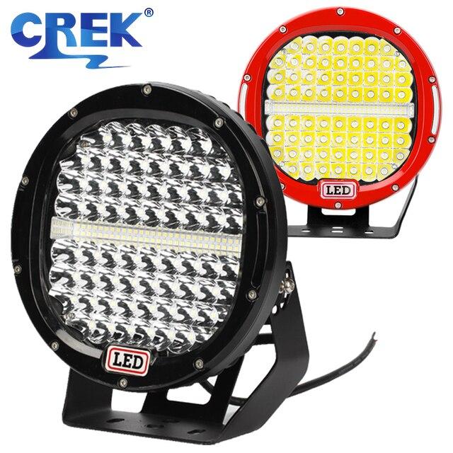 "CREK 9 ""378W Offroad LED Light Bar 4X4 SUV ATVไฟLEDทำงานเรือLEDค้นหาสำหรับ 4WD 4X4 Offroad SUV ATVเรือรถ"