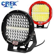 CREK Barra de luz LED todoterreno de 9 pulgadas, 378W, 4x4, SUV, ATV, luz de trabajo, envío, búsqueda, 4WD, 4x4, todoterreno, SUV, ATV, barco, Coche