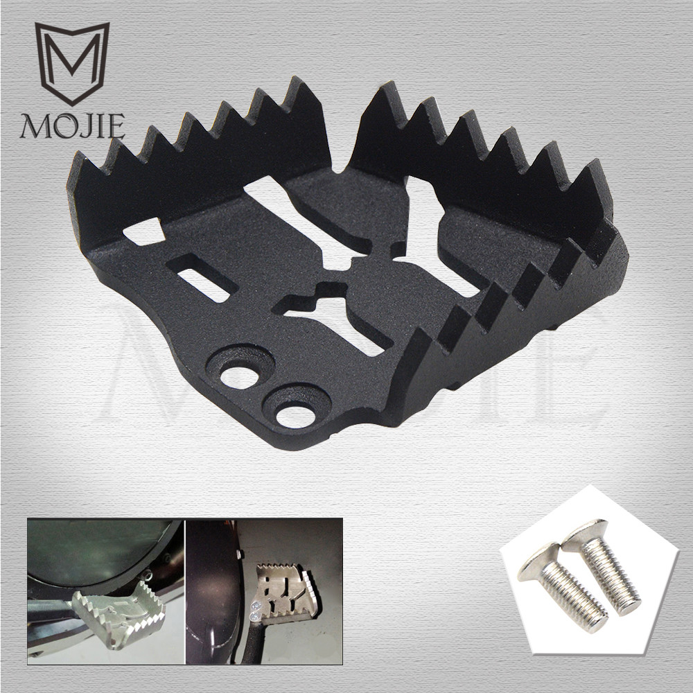 For KTM 1290 Super Adventure ADV 2015 2016 Motorcycle Accessories Rear Brake Pedal Lever Step Plate Enlarge Black Motorbike in Covers Ornamental Mouldings from Automobiles Motorcycles