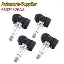 4 sztuk/partia 56029526AA TPMS powietrza w oponach czujniki ciśnienia dla Mopar Dodge Jeep 68078861AA 56053030AC KR5S180052015B