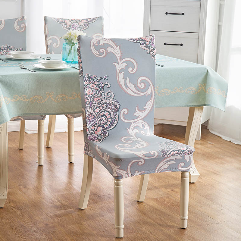 chair covers the range desk store near me monily vintage 1 pc spandex polyester stretch office floral totem colorful printing banquet hotel dining seat cover