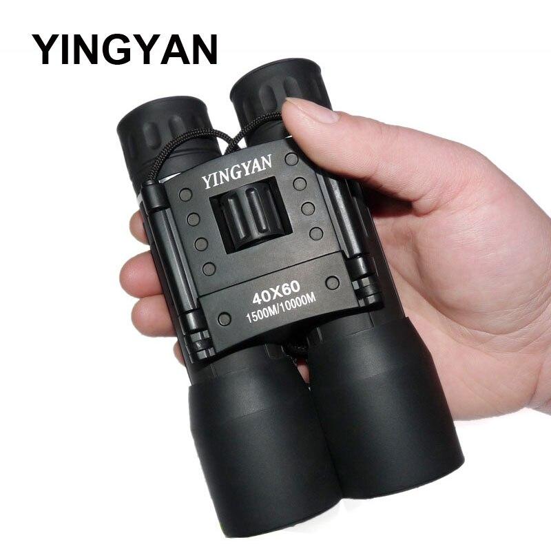 2018 Новое поступление 40x60 бинокль поле очки отличные ручной телескопы дропшиппинг Охота HD мощный бинокль Горячие
