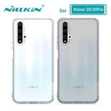 Etui TPU do Huawei Honor 20 Pro 20S Nova 5T obudowa Nillkin natura wyczyść miękki silikon miękka okładka Huawei Honor 20 etui